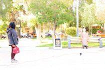 Escultura de la poeta Gabriela Mistral recibirá a vicuñenses y turistas en la plaza que lleva su nombre