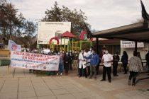Gremios de salud del hospital de Vicuña se manifiestan por falta de ambulancias y personal médico