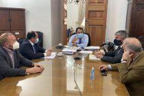 Autoridades regionales sostuvieron reunión junto al SubSecretario del Interior